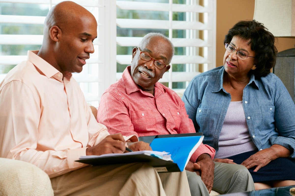 planning finances with older parents