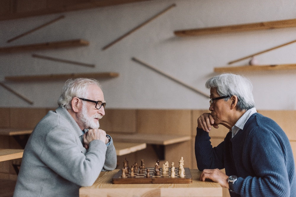 brain games for seniors playing chess