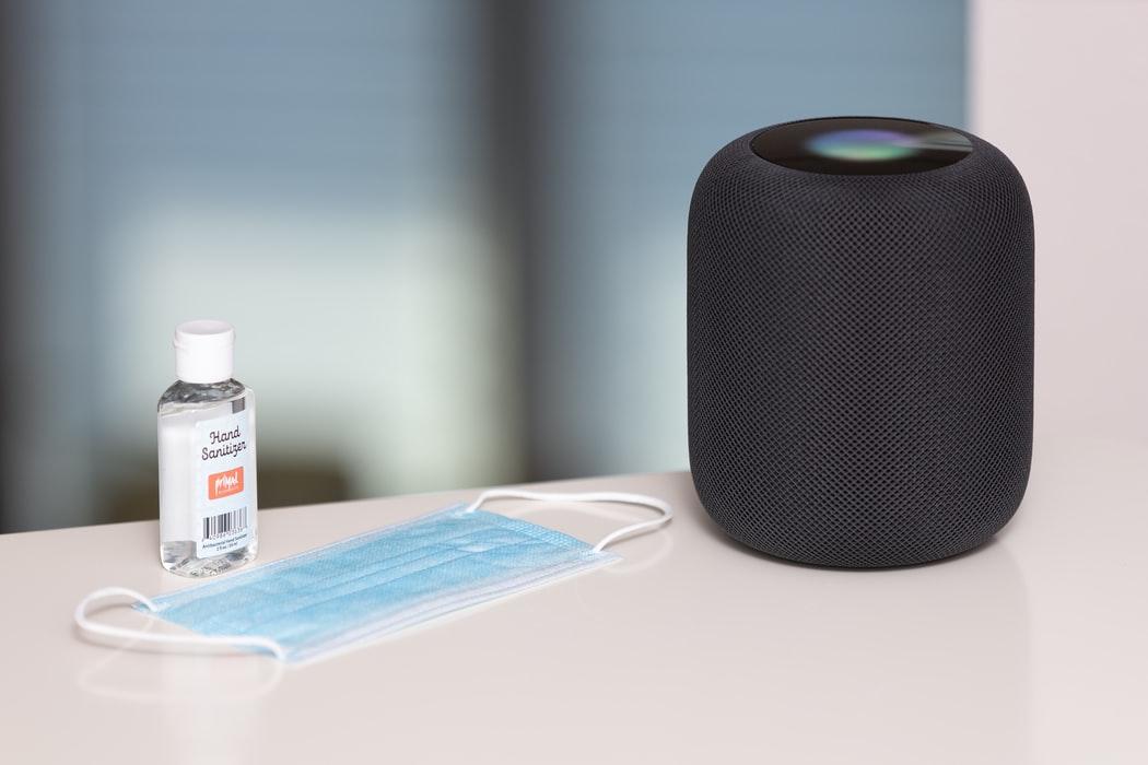 smart speaker for COVID-19 reminders